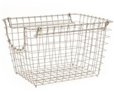 Williams-Sonoma Stainless Steel Scoop Stacking Basket, Small