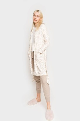 Gibson All Wrapped Up Cozy Fleece Robe