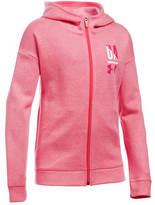 Under Armour Unader Armour Girls' UA Favorite Fleece Full Zip