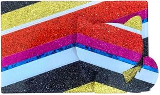 Karl Lagerfeld Paris Multicolour Plastic Clutch bags