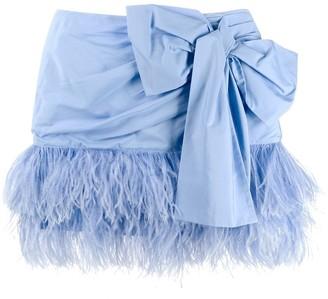 No.21 Bow Mini Skirt