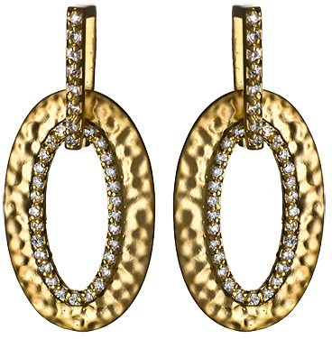 Matte Long O Earrings
