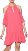 Timeless Raspberry Sorbet Dress