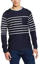Esprit Men's Crew Neck Long Sleeve Jumper - Blue