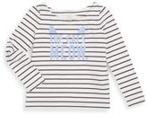 Kate Spade Toddler's & Little Girl's Roanne Appliquéd Top