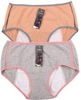 YOYI FASHION Women's Menstrual Period Protection Leak Proof Control Brief 3 Pack (L, )