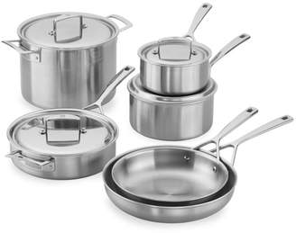 Zwilling J.A. Henckels Aurora 10-Piece Stainless Steel Cookware Set