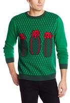 Alex Stevens Men's Hatchy Holidays Ugly Christmas Sweater