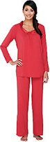 Midnight by Carole Hochman 2 Piece Modal Pajama Set