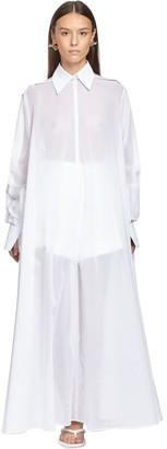 Valentino Cotton Voile Tunic Dress