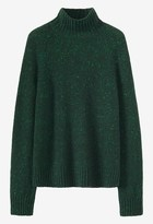 Toast Cashmere Wool Funnel Neck Sweater