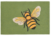 Liora Manné Frontporch Bee Indoor/Outdoor Hand-Tufted Rug