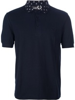 Raf Simons Fred Perry 'Cuello Rombos' polo shirt