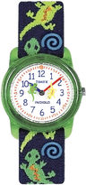 Timex Easy Reader Kids Print Fabric Strap Watch T728819J