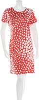 Diane von Furstenberg Silk Printed Reina Dress