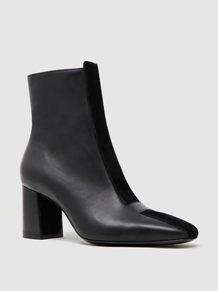 Sylven JAYNE Two-Tone Leather/Suede Boot