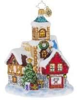 Christopher Radko St Nicholas Lane Ornament