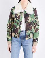 Rag & Bone Camouflage-print cotton flight jacket