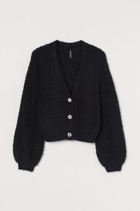 H&M Short Cardigan - Black