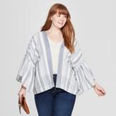 Universal Thread Women' Plu ize Kimono - Univeral ThreadTM Blue/White