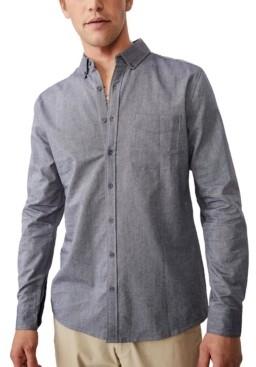Cotton On Men's Brunswick Long Sleeve Shirt