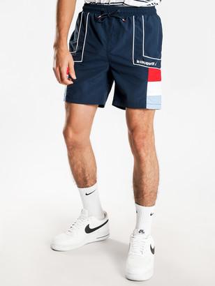 Le Coq Sportif Laurent Shorts in Dress Blue