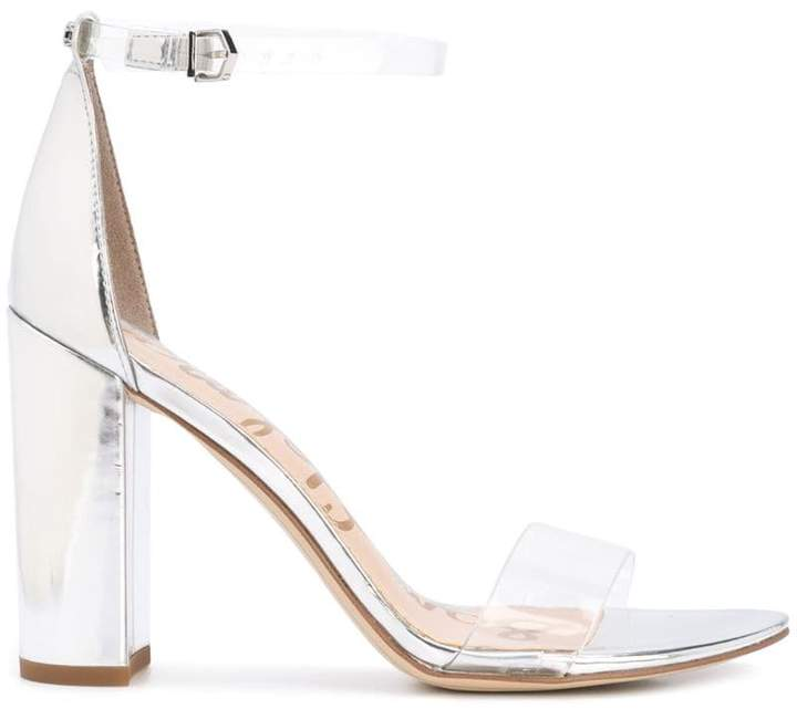 98ae6b92534 Sam Edelman Silver Women s Sandals - ShopStyle
