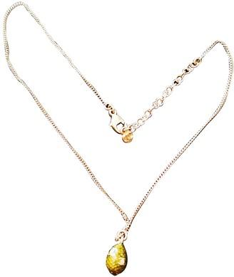 Chanel Khaki Metal Necklaces