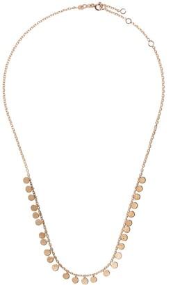 Kismet by Milka 14kt Rose Gold Dangle Disc Necklaces