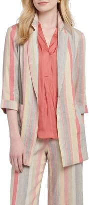 Nic+Zoe Sweet Clover Stripe Blazer