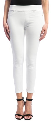 Liverpool Sienna Pull-On Stretch Skinny Ankle Jeans