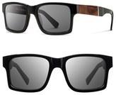 Shwood 'Haystack' 52mm Polarized Wood Sunglasses