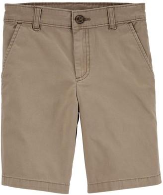 Carter's Boys 4-14 Flat-Front Shorts