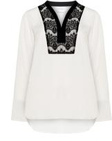 Junarose Plus Size Lace crepe blouse
