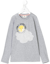 Fendi sun print T-shirt - kids - Cotton - 3 yrs
