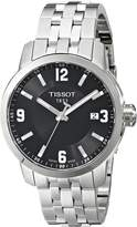 Tissot Men's T0554101105700 Stainless Steel Watch with Link Bracelet