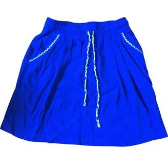 La Petite Francaise Blue Skirt for Women