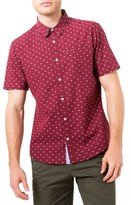 7 Diamonds Men's Star Quality Dobby Woven Shirt