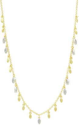 Freida Rothman Fleur Bloom Open Pendant Necklace