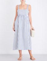 Mara Hoffman Embroidered dots cotton dress