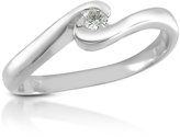 Forzieri 0.06 ct Diamond 18K Gold Solitaire Ring