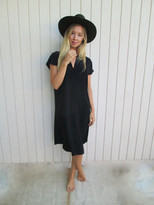 Tysa Travel Dress In Black