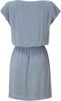 James Perse Tempest Grey Elastic Waist Kimono Dress