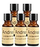 Andrea 5 x 20ML Hair Growth Essence Hair Loss Stop Fast Hair Growth Products Regrow by