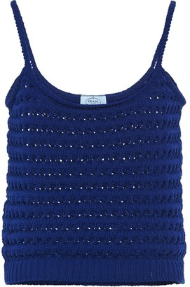 Prada Crochet Vest Top