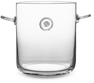 Juliska Berry & Thread Ice Bucket w/Tongs - Clear