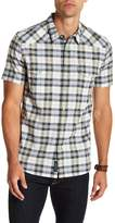 Lucky Brand Santa Fe Short Sleeve Saturday Stretch Shirt