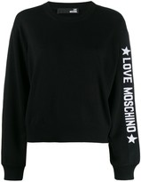 Love Moschino loose-fit logo jumper