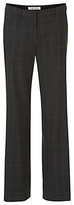 Betty Barclay Wide Leg Trousers, Grey/Black