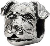 Prerogatives Sterling Rottweiler Head Bead